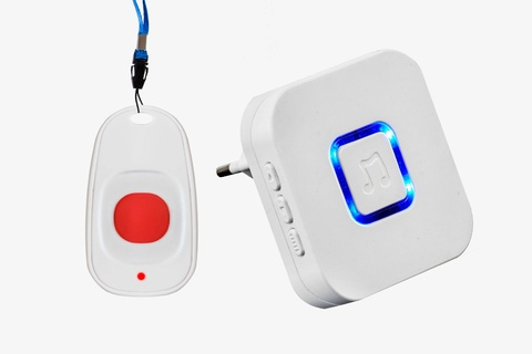 Wireless call system for disabled RC-11 + DoorBell Receiver