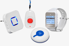 Фото Wireless call button for disabled RC-11C + DoorBell Receiver + R-300 + R-02